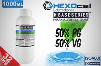 DIY - HEXOCELL ELİKİT BASE 1000ml - 50PG 50VG - 32mg/ml NİKOTİN görsel 1