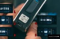 ESİGARA - Puff AVATAR FX Mini 40W TC Isı Ayarlı Mod ( Gümüş ) görsel 2