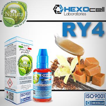 ELİKİT - NATURA/HEXOCELL - 30ml - RY4 9mg ( ORTA NİKOTİNLİ ) - PG+VG