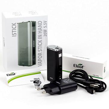 ESİGARA - ELEAF iStick 20 Watt Box MoD ( SİYAH )