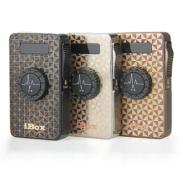 ESİGARA - VAPROS iBox 3-25Watt Box MoD ( SİYAH )