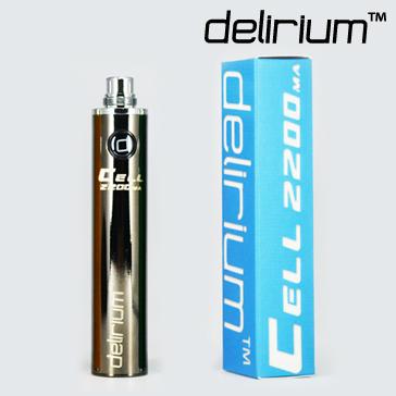 BATARYA - DELIRIUM CeLL 2200mA ( GUN METAL )
