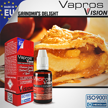 ELİKİT - VISION/VAPROS 30ml - GRANDMA'S DELIGHT 9mg