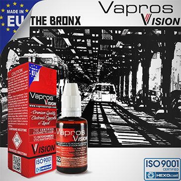 ELİKİT - VISION/VAPROS 30ml - THE BRONX 18mg
