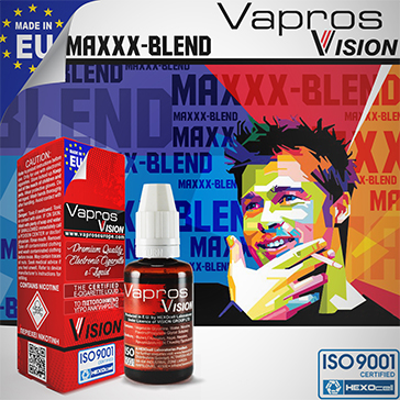 ELİKİT - VISION/VAPROS 30ml - MAXXX-BLEND 0mg
