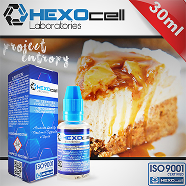 ELİKİT - HEXOCELL - 30ml PROJECT ENTROPY - 6mg %80 VG ( DÜŞÜK NİKOTİNLİ )