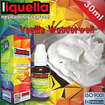 ELİKİT - LIQUELLA - 30ml VANILLA WONDERWALL - 6mg %80 VG ( DÜŞÜK NİKOTİNLİ )