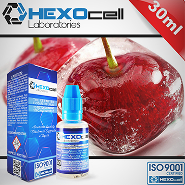 ELİKİT - HEXOCELL - 30ml CHERRY LIPS - 0mg %80 VG ( NİKOTİNSİZ )