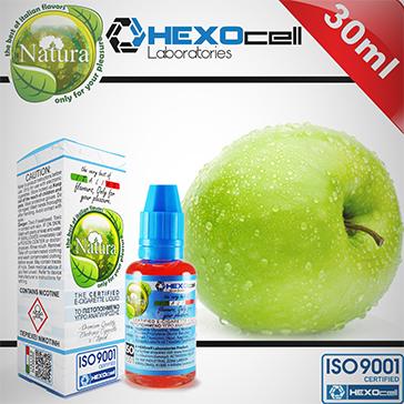 ELİKİT - NATURA - 30ml GREEN APPLE - 3mg %80 VG ( ÇOK DÜŞÜK NİKOTİNLİ )