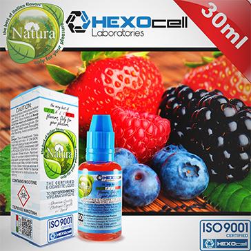ELİKİT - NATURA - 30ml FOREST FRUITS - 6mg %80 VG ( DÜŞÜK NİKOTİNLİ )