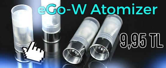 ego w, ego-w, ego w atomizer, atomizer, electronic cigarette, ecig, atomiseur, atomizzatore, dampfer