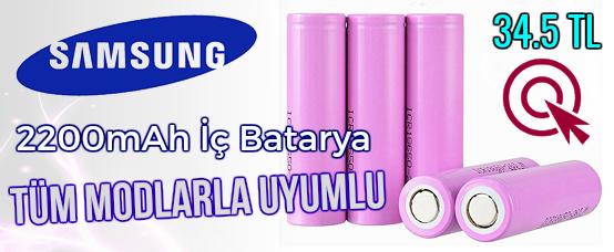 samsung, 18650 batarya, iç batarya, elektronik sigara bataryası, mod elektronik sigara, esigara bataryası