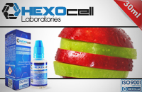 ELİKİT - HEXOCELL - 30ml DOUBLE APPLE - 3mg %80 VG ( ÇOK DÜŞÜK NİKOTİN ) görsel 1