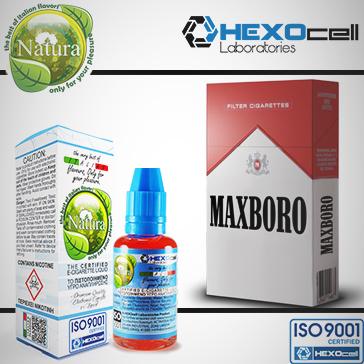 ELİKİT - NATURA - 30ml MAXBORO - 0mg %80 VG ( NİKOTİNSİZ )