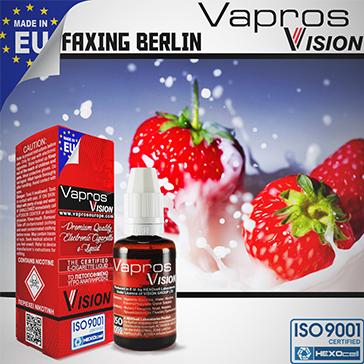 ELİKİT - VISION/VAPROS - 30ml FAXING BERLIN - 9mg %80 VG ( ORTA NİKOTİNLİ )