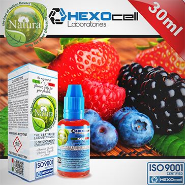 ELİKİT - NATURA - 30ml FOREST FRUITS - 9mg %80 VG ( ORTA NİKOTİNLİ )