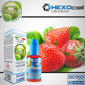 ELİKİT - NATURA - 30ml STRAWBERRY - 9mg %80 VG ( ORTA NİKOTİNLİ )