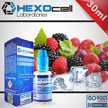 ELİKİT - HEXOCELL - 30ml FROZEN FRUITS - 3mg %80 VG ( ÇOK DÜŞÜK NİKOTİN )