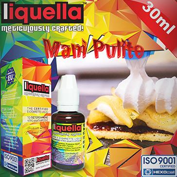 ELİKİT - LIQUELLA - 30ml MANI PULITE - 6mg %80 VG ( DÜŞÜK NİKOTİNLİ )