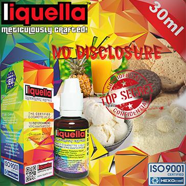 ELİKİT - LIQUELLA - 30ml NO DISCLOSURE - 6mg %80 VG ( DÜŞÜK NİKOTİNLİ )