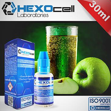 ELİKİT - HEXOCELL - 30ml APPLE SPARKLE - 6mg %80 VG ( DÜŞÜK NİKOTİNLİ )