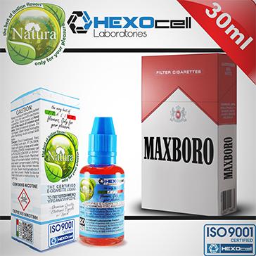 ELİKİT - NATURA - 30ml MAXBORO - 6mg %80 VG ( DÜŞÜK NİKOTİNLİ )