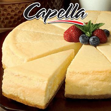DIY - 10ml Capella Aroma - New York Cheesecake (New York Usulü Burçak Bisküvi Tabanlı Peynirli Kek)