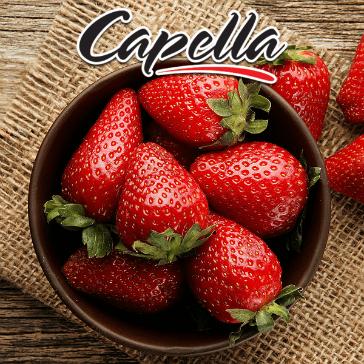 DIY - 10ml Capella Aroma - RF Sweet Strawberry (Düşük Isıda Buharlaşan Çilek)