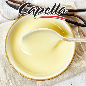 DIY - 10ml Capella Aroma - Vanilla Custard (Pişirilmiş Süt, Yumurta, Şeker, Tereyağı ve Vanilya)